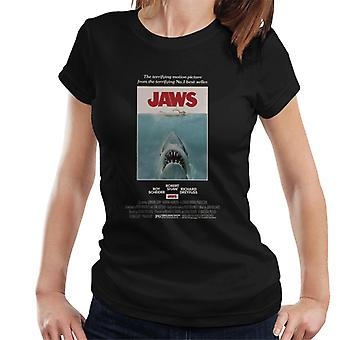 Jaws Movie Poster Women's T-Shirt