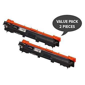 TN-251 Black Premium Generic Toner (Set of 2)
