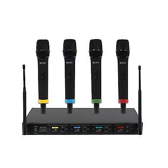 W audio RM kvartet håndholdt trådløst mikrofon system