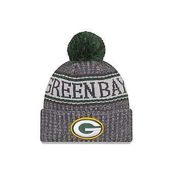 Uusi Era NFL Green Bay Packers Sideline Graphite Sport Knit