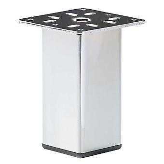 Cromo cuadrados Muebles Pierna 15 cm