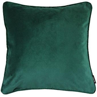 Mcalister tessuti opaco cuscino velluto verde smeraldo