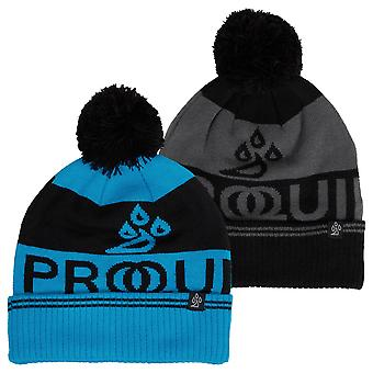 Proquip Unisex 2020 Logo Bobble Warm Windproof Comfy Winter Golf Beanie Hat