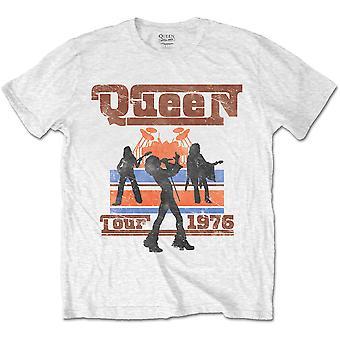 Queen Live Tour 1976 Freddie Mercury Rock Offizielles T-Shirt