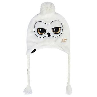 Harry Potter Adults Unisex Hedwig Owl Peruvian Hat