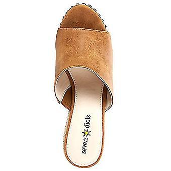 ZEVEN WIJZERPLATEN Dames's Espadrille Wedge Sandal