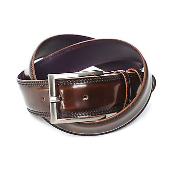 Elliot Rhodes Burnished Cordovan Leather Belt