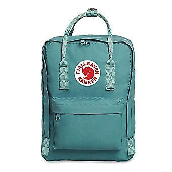 FJALLRAVEN K nken 13' - Unisex-Adult Backpack - (Frost Verde-Chess Pattern) - 45 Centimeters