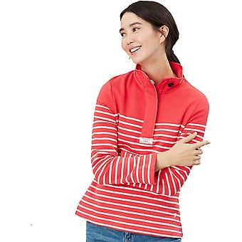 Joules Donne Saunton Button Collo Caldo Casual Sweatshirt