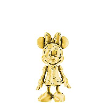 Magnet - Disney - Minnie Pewter Figural Dangle Gold New Licensed 25021