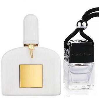 Tom Ford White Patchouli For Her Inspired Fragrance 8ml Black Lid Bottle Hanging Car Vehicle Auto Air Freshener