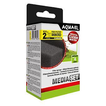 Aquael Recambio Esponja Filtro Fan Micro-Plus (2 Uni)