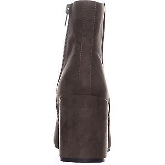 Bar III Womens Gatlin Almond Toe Ankle Fashion Boots