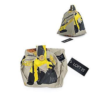 Essentials by Loft 25 Couverture d'arrêt de porte en polycotton pour enfants Couverture non remplie uniquement ( Caractéristiques Carry Handle (fr) Chambre Nursery Home Decor (Diggers)