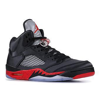 Air Jordan 5 Retro ' Satin Bred '-136027-006-Schuhe