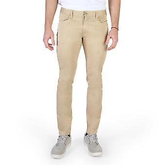 Armani Jeans Original Men primăvară / vară Pantaloni Maro Culoare - 58287