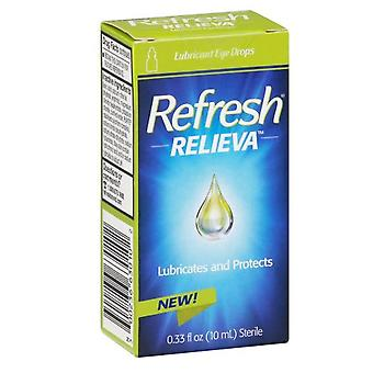 Refresh relieva lubricant eye drops, 0.33 oz