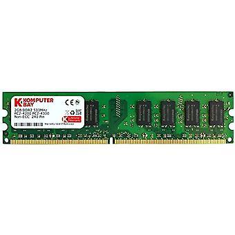 Komputerbay 2GB DDR2 533mHz PC2-4200 PC2-4300 DDR2 533 (240 PIN) DImm Desktop Memory