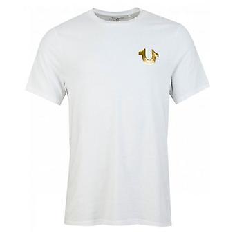 True Religion Metallic Horseshoe Buddha T-Shirt