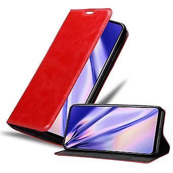 Cadorabo sag for Huawei Nova 5T sag dække - telefon sag med magnetisk lås, stå funktion og kortrum - Sag Cover Beskyttende sag bog Foldestil