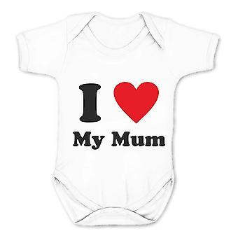 Reality glitch i love my mum kids babygrow