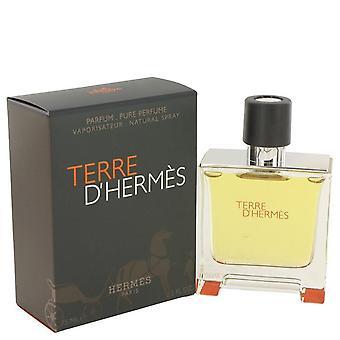 Terre d'hermes puhdas pefume spray hermes 464072 75 ml