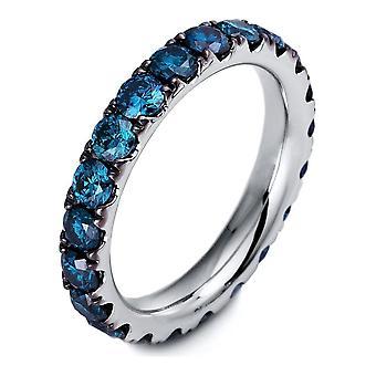 Bague Diamond - 18K 750/- Or Blanc - 2,68 ct. - 1O437W854 - Largeur de l'anneau: 54