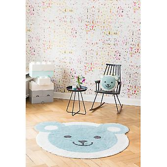 Round carpet baby baby bear diameter 150cm