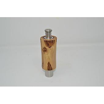 Holz Gewuerzmuehle Einhand Muehle aus Goldregen  Pfeffermuehle Salzmuehle pepper Spice salt mill handmade Made in Austria Geschenk Geschenk-Idee