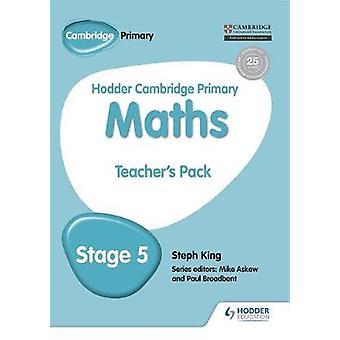 Hodder Cambridge Primær matematikk lærer's Ressurs Pack 5 av Ste