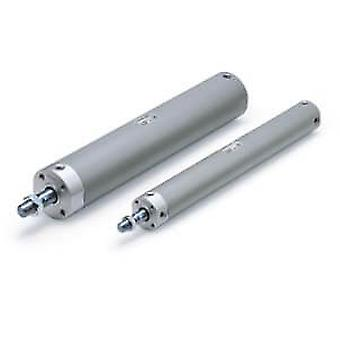 SMC Double Action Pneumatic Roundline Cylinder, Cdg1Bn25-150Z