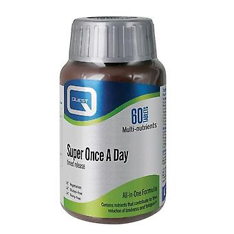 Quest Vitamins Super Once A Day Timed Release Tabs 60 (601354)