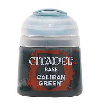 Caliban Green, Citadel Paint - Base, Warhammer 40.000/Age of Sigmar