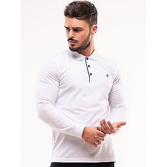 D-ROCK Dustin Polo Shirt White