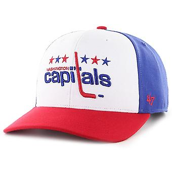 47 Marque Low Profile Snapback Cap - ZONE Washington Capitals