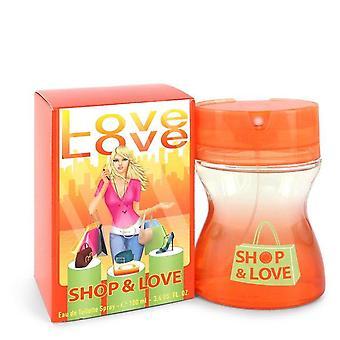 Shop & Love Eau De Toilette Spray By Cofinluxe 3.4 oz Eau De Toilette Spray