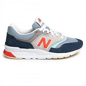New balance 90s running blue sneakers womens blue