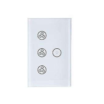 Wifi-Schalter für Ventilator und Beleuchtung - Weiß