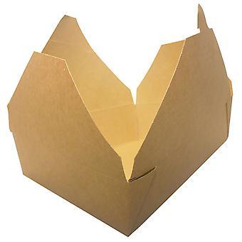 Kraft Extra Large Brown Deli Takeaway Boxes