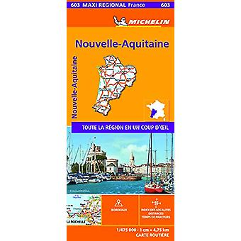 Aquitaine - Limousin and Poitou-Charentes  - France - Michelin Maxi R