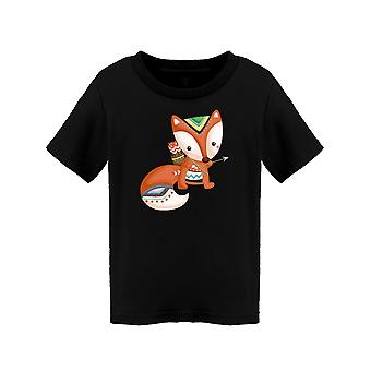 Ornament Fox Tee Toddler's -Image door Shutterstock