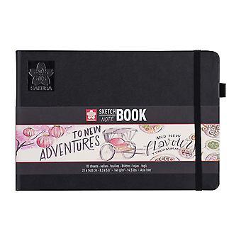 Sakura Sketch Note Book with 80 Sheets 21 x 14.8 cm