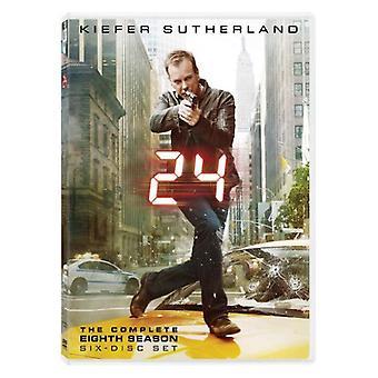 24 h - 24: Kausi 8 [DVD] USA tuonti