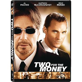 Two for the Money [DVD] USA import