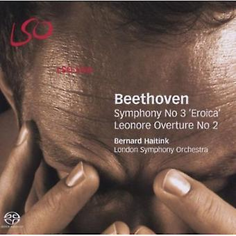 L.V. Beethoven - Beethoven: Symphony No. 3 'Eroica'; Leonore Overture No. 2 [SACD] USA import
