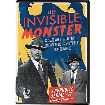 Invisible Monster [DVD] USA import