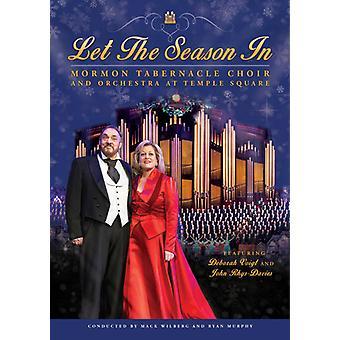 Mormon Tabernacle Choir - Let the Season in [DVD] USA import