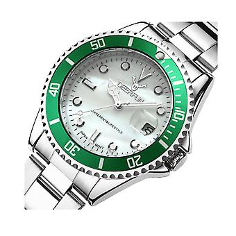 Genuine Deerfun Homage Watch Green Silver White Date Watches Top Quality Sale