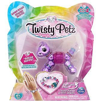 Twisty Petz Single Pack Series 4 - Rizzo Hippo - Rainbow Or Metallic Version