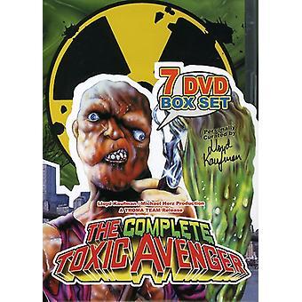 Komplette Toxic Avenger-Box-Set [DVD] USA importieren